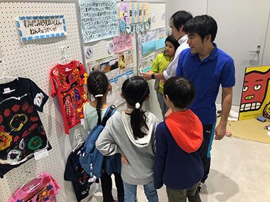 11_北斎祭り_二葉小学校展示